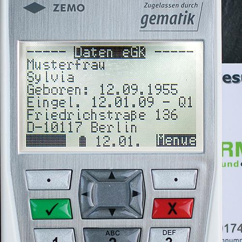 ZEMO VML-GK2 telematik eGK